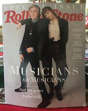 Rolling Stone Magazine Taylor Swift Paul McCartney Dec 2020 LAST ONE! No Label