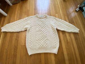 Irish Fisherman's Sweater, M