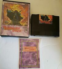 MAGICIAN LORD GAME FOR NEO GEO AES CONSOLE COMPLETE  DAMAGED INSERT & TRAY