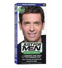 JUST FOR MEN Hair Color H-40 Medium Dark-Brown 1 ea (Pack of 2)