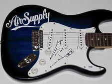 AIR SUPPLY AUTOGRAPHED GUITAR (GRAHAM RUSSELL & RUSSELL HITCHCOCK) - PSA DNA!