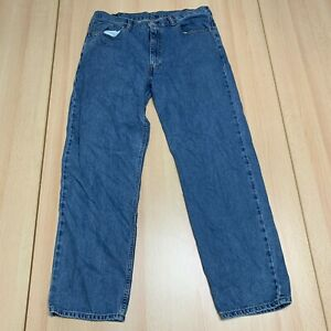 LEVI'S 550 (38 Inch Waist) (32 Inch Leg) Relaxed Fit JEANS Blue Mens