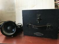 FRANCIS SEARCHLIGHTS 5'' DAYLIGHT SIGNALLING LANTERN MK. V. BOLTON LANCS. ENG. !