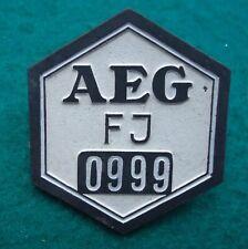 German WW2 AEG Workers Numbered Badge