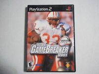 NCAA GameBreaker 2001 Playstation 2 PS2 Video Game Complete