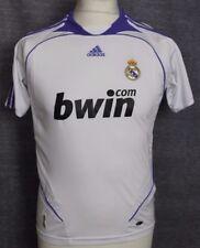 "VINTAGE REAL MADRID HOME FOOTBALL SHIRT 06-07 ADIDAS RARE YOUTHS 30/32"""