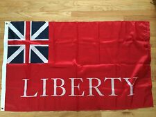 British Red Ensign Liberty Revolutionary War Flag