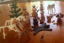 Playmobil Figura De Juguete-Conjunto de Juego Playmobil Western nativo americano-GR8!!!