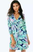 NWOT Lilly Pulitzer Amina Dress Long Sleeve Size Medium M