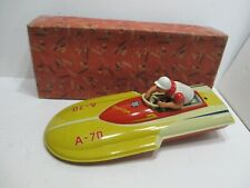 Hydroplane Speed Boat Wind-Up New In Box Made By Arnold Germany-Scarce