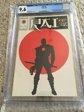 "RAI #0  CGC 9.6 WP "" Matte"" version  Valiant Comics 11/92 1st full app Bloodshot"