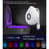 Lampada da comodino a LED a 8 colori con luce di cortesia e braccio