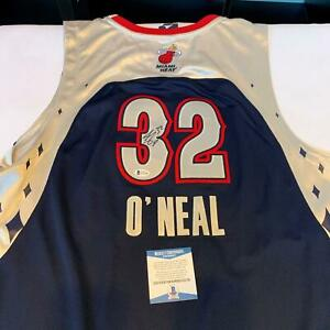 Shaquille O'neal Signed Authentic 2007 All Star Game LA Lakers Jersey Beckett