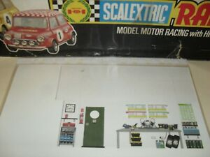 scalextric vintage pitbox card #2