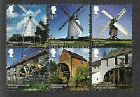 Great Britain-Mills & Windmills mnh set
