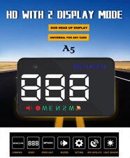 A5 GPS HUD Head Up Display Km/h MPH Digital Speedo Speed Warning Alarm Charming