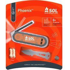 SOL Phoenix Emergency Fire Knife Tinder LED Tactical Tool Survival AMK 0140-0838