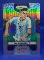 2018 Panini Prizm Paulo Dybala #10 World Cup Silver Prizm BEAUTIFUL CLEAN CARD