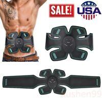 Abdominal EMS Muscle Trainer Stimulator Electric AB Toner Workout Belt Massager