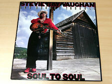 EX/EX !! Stevie Ray Vaughan & Double Trouble/Soul To Soul/1985 Epic LP