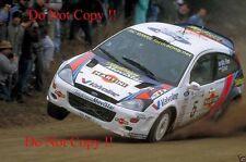 Colin McRae. FORD FOCUS RS WRC 00 RALLY ARGENTINA fotografia 2000