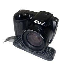 Nikon COOLPIX L105  Digital Camera - Black TESTED