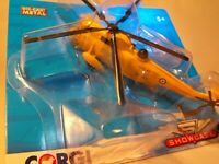 MODEL OF RAF WESTLAND SEA KING SEARCH AND RESCUE HELICOPER MODEL  DIECAST MODEL