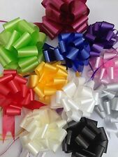 30 Mixed Colours Pullbow Ribbons 30mm Party Decorations CHOOSE YOUR OWN COLOURS.