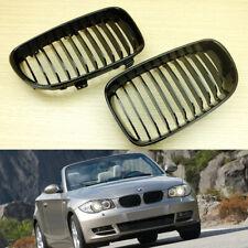 Shiny Black Front Grilles Grill Fit BMW 1 Series E81 E82 E87 E88 LCI Sport