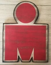 Collector's Item - Ironman Triathlon M Dot Handcrafted Wooden Sign