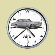Chrysler AP6 Valiant Regal Sedan (silver) Wall Clock