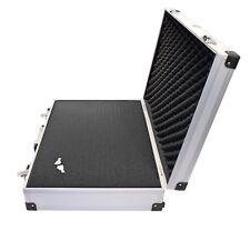 Caja Maletin de Herramientas Profesional Aluminio Con Cerradura Llave Tamaño XL