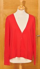 """MONSOON Cherry Red Cardigan/Knitted Jacket BNWT Size 22 48"""" Bust (18/20?)Stretch"""