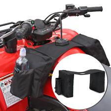 ATV Tank Bag Saddlebag Mobile Fuel Tank Cup Holder For Polaris Dirt Bike Ski-doo
