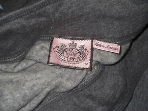NOS/NWOT - WOMENS JUICY COUTURE DRAWSTRING SWEATPANTS - 14 - GRAY -