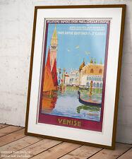 🕍 Poster Georges S. Dorival Venezia Grafica Vintage Stampa Fine Art  🎨
