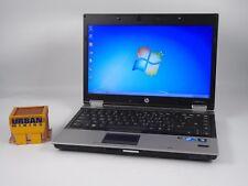 """HP Elitebook 8440p 14"""" i7-M640 2.8GHz 4GB RAM 320GB HD Win 7 Pro"""