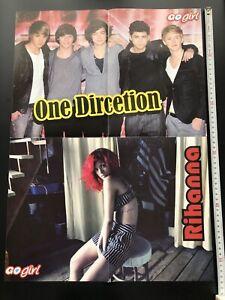 Rihanna / One Direction b/w Jessie J / Joe Jonas Turkish Go girl magazine poster