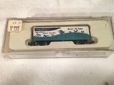 ~ CON COR GERBER'S BABY 40'  BOXCAR # 0001-001751 N SCALE VERY RARE