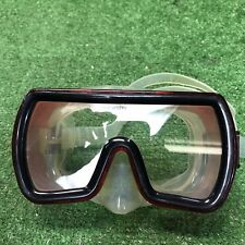 Clear Silicone  Dive Mask With WINTECH Tempered Lens and Snorkeling Diving Water