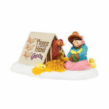 Department 56 Dickens Helping Mother Hen Accessory New 4042399 Dv D56 2014
