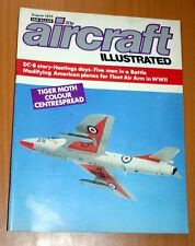 Aircraft Illustrated 1975 August DC8,Hastings