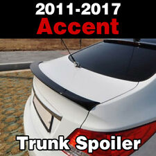 Rear Trunk Lip Lid Wing Spoiler Parts Painted For HYUNDAI 2011-2017 Accent Verna