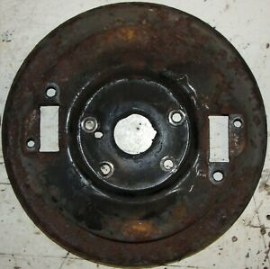 """CLASSIC BMC MORRIS MINOR 1000 FRONT 8"""" BRAKE BACK PLATE MAY FIT OTHER CARS"""