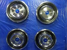 "1971 1972 1973 Mercury Cougar 14"" Hub Caps WHEEL COVERS SET OF 4"