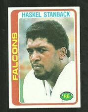 1978 TOPPS SET BREAK #123 HASKEL STANBACK FALCONS EX-MT FREE SHIPPING
