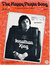La gente felice CANZONE-Jonathan KING - 1975 Spartiti