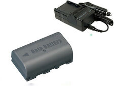 BN-VF808U BN-VF815U Li-ion Battery + Charger for JVC MiniDV and Everio Camcorder