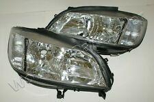 1999-2004 OPEL Zafira HeadLights Front Lamps LEFT + RIGHT 2000 2001 2002 2003