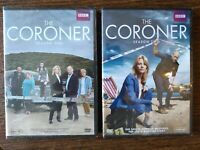 THE CORONER (BBC) Complete Seasons 1-2 DVD Bundle NEW Free Ship